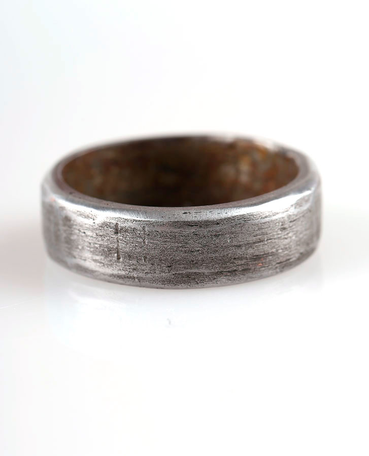 handmade iron ring jewellery for him or her